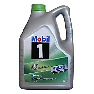 mobil 1 esp formula 5w 30 engine oil 5l car. Black Bedroom Furniture Sets. Home Design Ideas