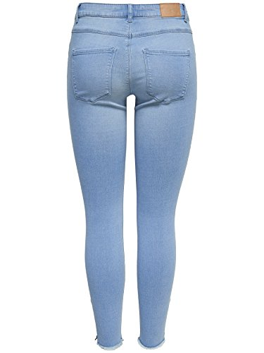 JACQUELINE de YONG Ankle Jeans Jeanshose JDYSKINNY REGULAR WAIST 15150142 Light Blue