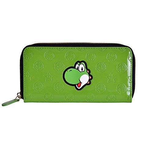 Super Mario Nintendo Yoshi Geldbörse grün