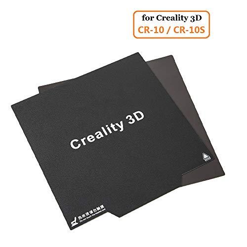 Official Creality 3D Nuova Stampante 3D CR 10 / CR 10S / CR 10 V2 Adesivo con superficie magnetica flessibile per il letto di calore