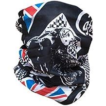 Motorrad Multifunktionstuch Schlauchtuch Kopftuch Halstuch viele Farben - Cafe Racer
