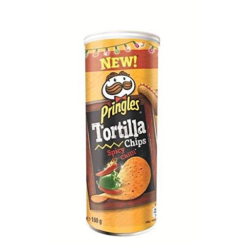 Pringles tortilla chilli 160g - ( Prix Unitaire ) - Envoi Rapide Et Soignée