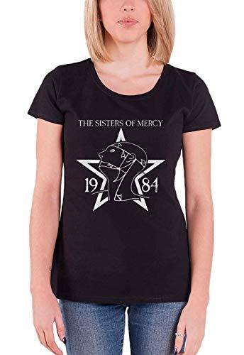 1984 Schwarzen T-shirt (The Sisters Of Mercy 1984 T-Shirt schwarz M)