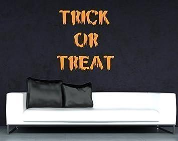 Trick Or Treat Halloween Home Decal Shop Window Sticker Festive - Window stickers amazon uk