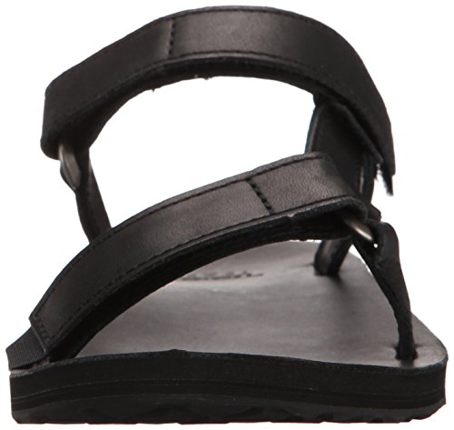 Teva W Universal Slide Leather, Scarpe da Atletica Leggera Donna Nero (Black Blk)
