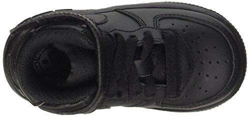 Nike Force 1 Mid Td, sneaker mixte adulte Nero (Black/Black)