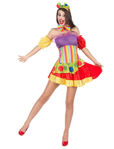 Costume da clown per donna S / M