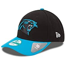 New Era 9forty - Gorra con ajuste trasero, diseño de la liga NFL, Unisex, Carolina Panthers #2704, OSFM (One Size fits most)