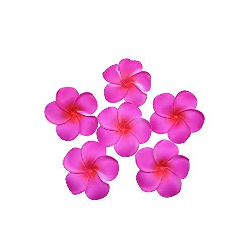 Strawberryran Plumeria 10Pcs Durchmesser 5 9cm Künstliche Schaum Frangipani-Blumen-Blumen-Dekoration-Party, Grün, M Cherry Blossom Vase Medium