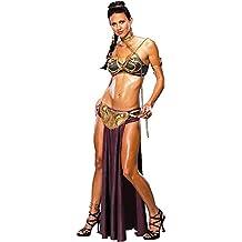 Rubies 3 888611 - Disfraz de princesa Leia esclava (talla 38-40)