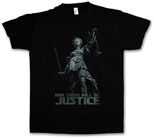 Urban Backwoods Justitia I T-Shirt - Taglie S - 5XL Nero
