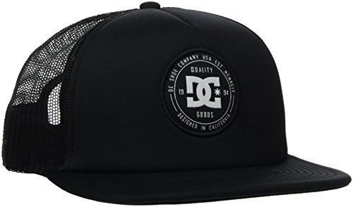 DC Apparel Herren Harlenson-Trucker Cap For Men, Anthracite, One Size