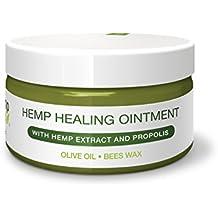 Universal Hanf-SALBE von HEMP 4 HELP Bestseller mit BIO-HANF, Hanf Extrakt und unraffiniert PROPOLIS | 100 ml | für die intensive Haut-Pflege als Körper Wund-Heil Salbe