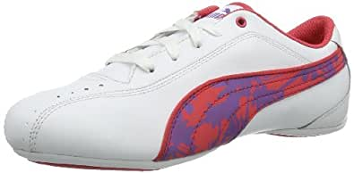 Puma Girl's Talulla Wildy Jr White Sports and Outdoor Shoes - Girls Over 4 Years - 1C UK