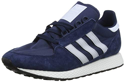 Adidas Men's Forest Grove Gymnastics Shoes, Collegiate Navyaero Blue S18core Black, 9 Uk