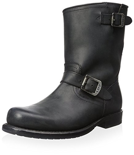 52d7692ddc9 Frye Men's Wayde Engineer Pull Boot, Black, 10 M US - Buy Online in ...