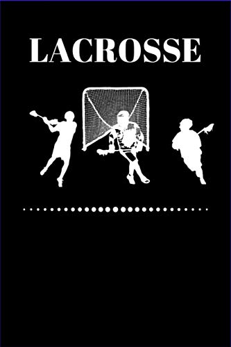 LACROSSE: LACROSSE - Dot Grid Notebook, Blank Lined Notebook, Diary, Journal or Planner | Size 6 x 9 | 100 dotted Pages | Office Equipment | Great Gift idea for Journaling and Hand Lettering