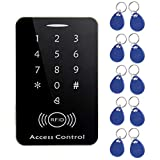 M203SE RFID Standalone Touch Screen Access Control Card Reader with 10pcs Keys