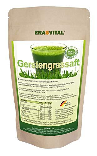 GERSTENGRASSAFT-PULVER I 500 g Pulver I LABORGEPRÜFT in Deutschland -