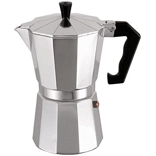 MSV Espressokocher Espresso Mokka Maker Kaffeebereiter Aluminium - 9 Tassen
