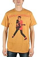 Elvis Costello - My Aim Is True Mens T-Shirt In Camel