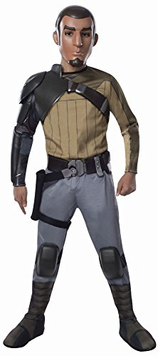 Star Wars Rebels Kinder Kostüm Kanan Deluxe mit Maske (Kostüme Rebel)