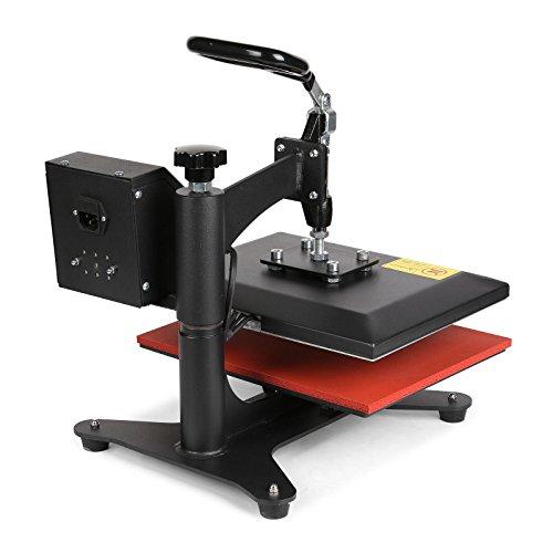 Lartuer Transferpresse Textilpresse T Shirtpresse Heat Press Machine 24X30cm mit Elektronische Zeitregelung und Temperaturüberwachung (24X30cm) - 9