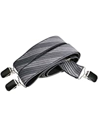 Bretelles entièrement réglable pour Homme / Femme avec 3 Clips - 3.5cm