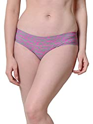 Da Intimo Womens Briefs (DIU-0910_Pink_Small)