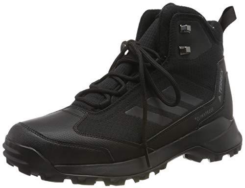 adidas Herren Terrex Heron Mid CW CP Trekking- & Wanderstiefel, Schwarz (Negbás/Negbás/Gricua 0), 44 EU