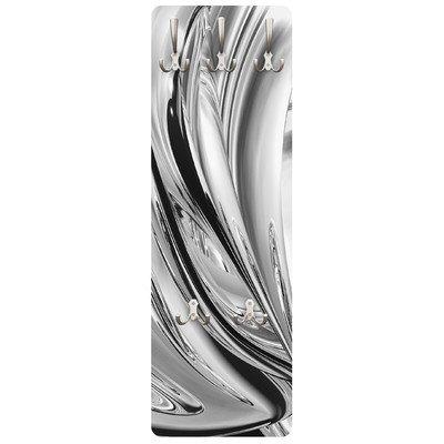 Apalis 79120 Wandgarderobe Lights II   Design Garderobe Garderobenpaneel Kleiderhaken Flurgarderobe Hakenleiste Holz Standgarderobe Hängegarderobe   139x46cm