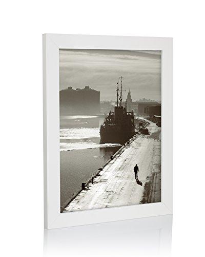 weiß Bilderrahmen, Größen in Zoll * für Zuhause und Büro * größte Größe Auswahl., acryl, White Pack of 1, 14x18 in ()