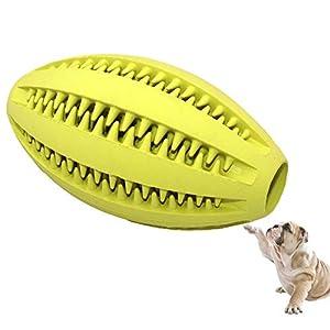 Balle A MâCher Chien,Chiens Dent Nettoyage,Qi EntraîNement,Interactif Animal De Compagnie Jouets,Adapté Pour Petit/Moyen/Grand Chiens