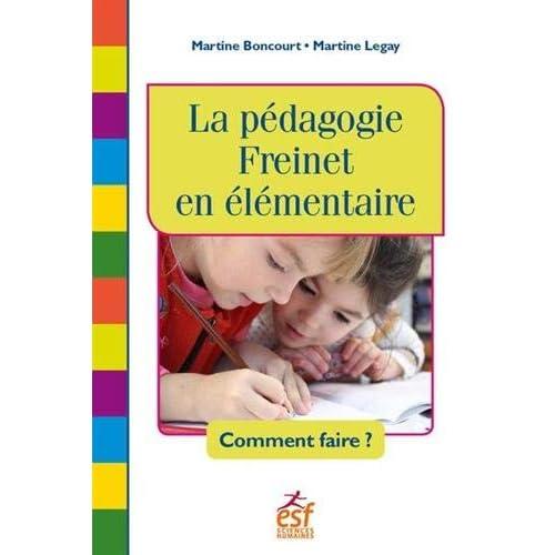 La pédagogie Freinet en élémentaire : Comment faire ?