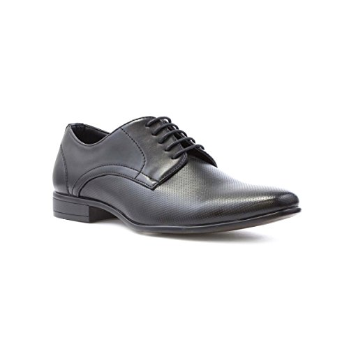 Beckett Mens Black Pepper Pot Lace Up Shoe - Size 12 UK...