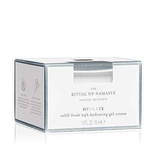 RITUALS The Ritual of Namasté 24H feuchtigkeitsspendende Gel-Creme zum Wiederbefüllen, Hydrating Kollektion, 50 ml