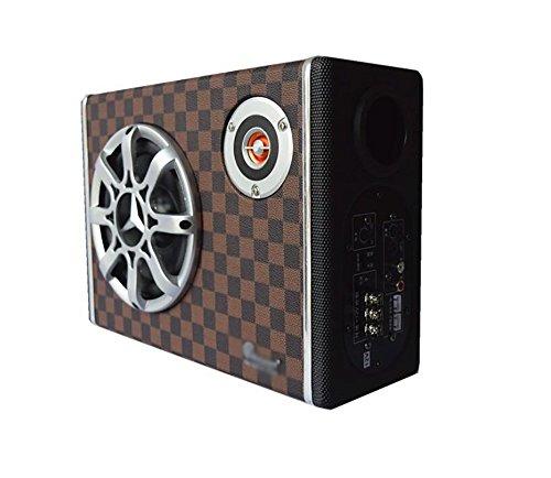 QXXZ 6 '' 300 Watt Auto Audio Subwoofer Stereo Bass Lautsprecher Amp Sub Box 12 V Auto Subwoofer Auto Audio Auto Lautsprecher Sub-amp-box