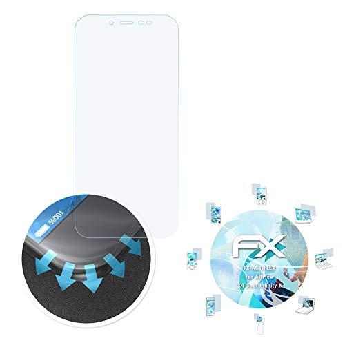 atFolix Schutzfolie passend für Allview X4 Soul Infinity N Folie, ultraklare & Flexible FX Bildschirmschutzfolie (3X)