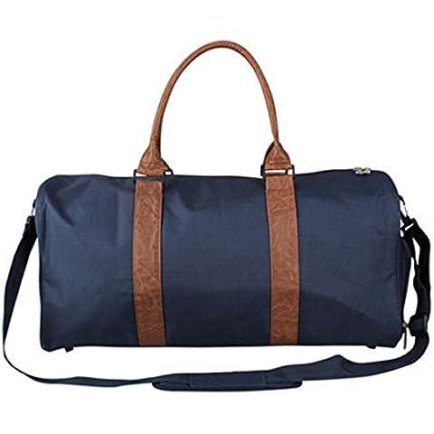 Unisex Fine Settimana Da Borse Pernottamento Carry on Duffel Travel Bag Tote per Viaggi, palestra, sport - Oversize Gear Bag