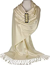 GFM Fashion - Pashmina - Femme -  blanc - Large