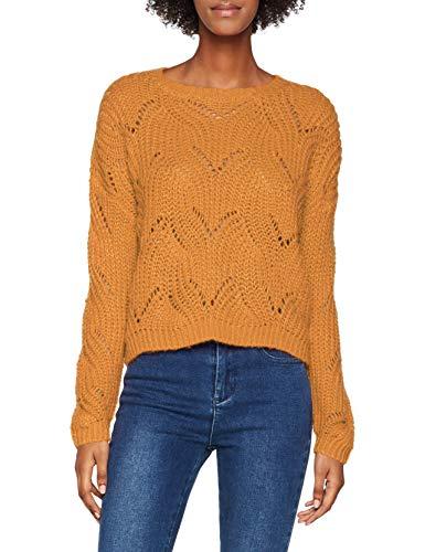 ONLY NOS Damen onlHAVANA L/S KNT NOOS Pullover, Gelb (Golden Yellow), 36 (Herstellergröße: S)