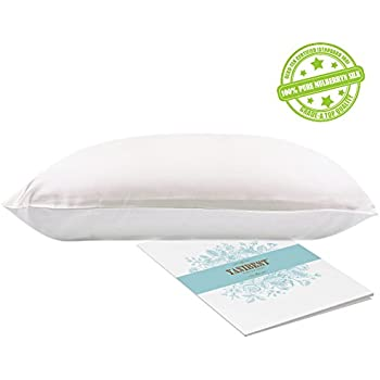 YANIBEST 100% Mulberry Silk Pillowcase for Hair and Skin with Hidden Zipper Cotton Underside - 19Momme Charmeuse Hypoallergenic 1pc 50 x 75 cm