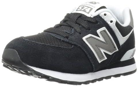 New Balance Unisex-Kinder KL574SKP-574 Hohe Sneakers, Mehrfarbig (Black 001Black 001), 32 EU