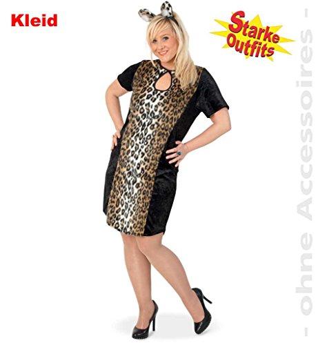 KarnevalsTeufel Leoparden Lady, Damen-Kostüm-Leo, Kleid, Leoparden Muster, Damen-Kostüm, Damen-Outfit ()