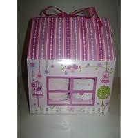 Set di 4Baby Girl Cupcake (con body) in fata Cottage Box