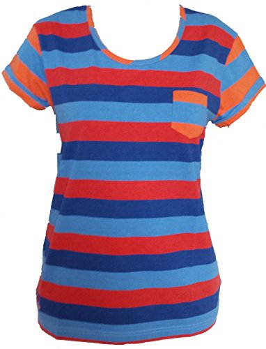 Canterbury Uglies Multi a righe maglietta da donna (taglia 10)
