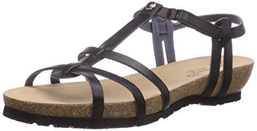 Panama Jack - Dori B22, sandali  da donna, nero(schwarz (negro / black)), 36