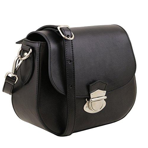 Tuscany Leather TL Neoclassic - Sac bandoulière en cuir - TL141517 (Beige) Noir