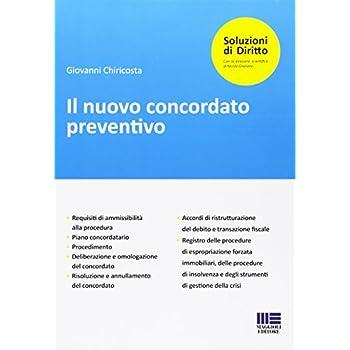 Il Nuovo Concordato Preventivo