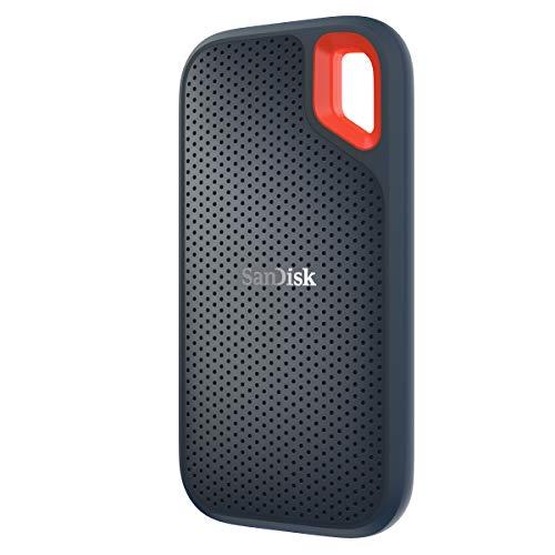 SanDisk Extreme - Portable SSD (500 GB, hasta 550 MB/s de Velocidad de Lectura) Color Negro